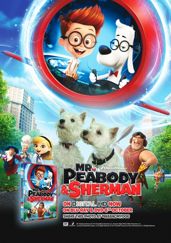 Mr Sherman & Peabody DVD Tour - 20th Century Fox