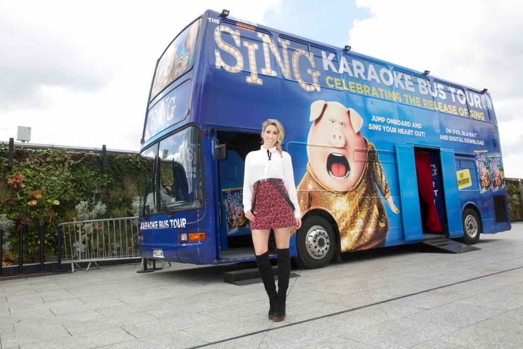 SING Tour Bus