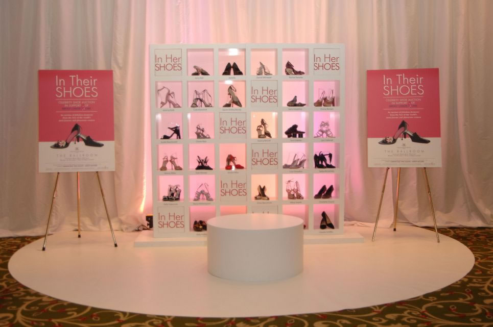 In Her Shoes Celebrity Shoe Auction - 20th Century Fox/Breast Cancer Care