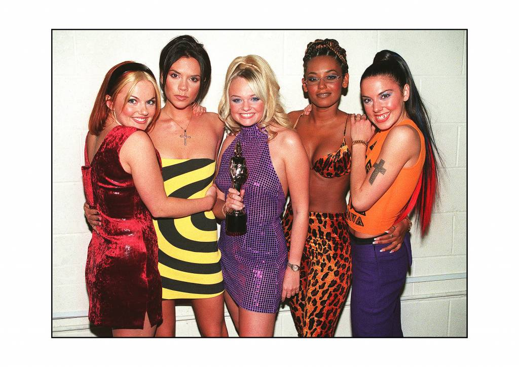 The Spice Girls At The Brit Awards